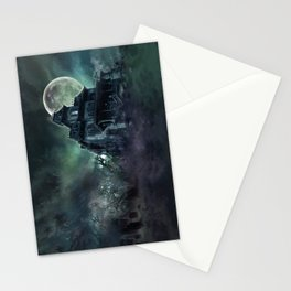 The Haunted House Stationery Cards