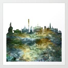 Copenhagen Skyline Denmark Art Print