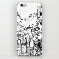 conan iPhone & iPod Skins featuring Worlds within Worlds by KadetKat