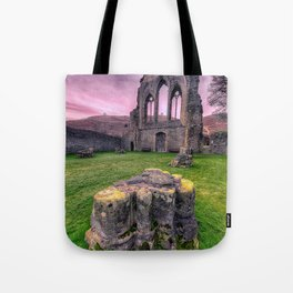 Welsh Abbey Tote Bag