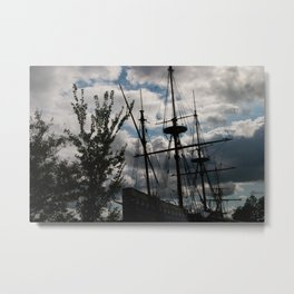 Ancient Sails Metal Print