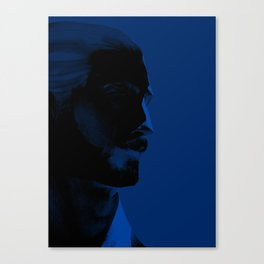 L'homme - midnight Canvas Print