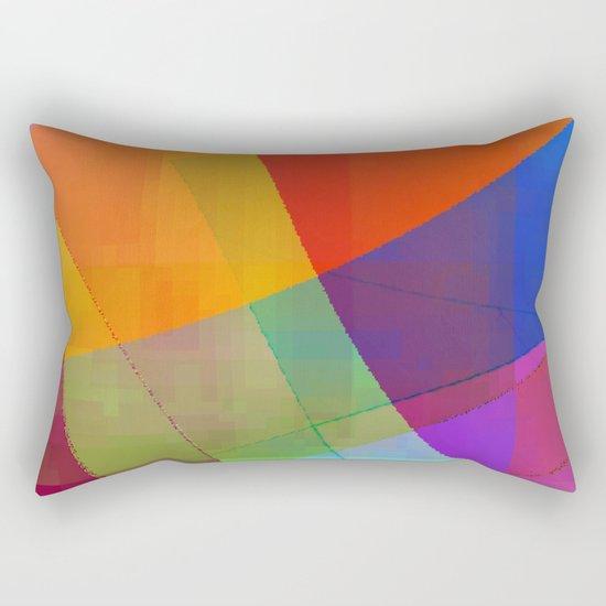 up swing too Rectangular Pillow