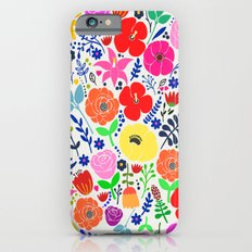 Flower Garden Slim Case iPhone 6