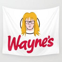 WAYNE'S SINGLE #2 Wall Tapestry