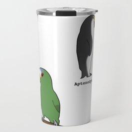 Lesbian Bird Species Travel Mug