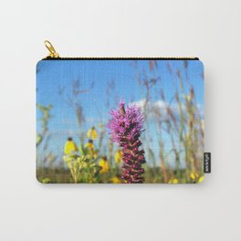 Prarie Liatris and coneflowers Carry-All Pouch