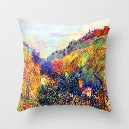 Camille Pissarro Mardi Gras Throw Pillow