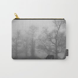 Wild horses in the woods Carry-All Pouch