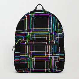 Neon Staircase Backpack