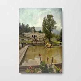 Vintage garden II Metal Print