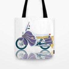 Batgirl's bike Tote Bag