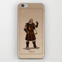 valar morghulis iPhone & iPod Skins featuring Tulkas by wolfanita