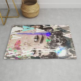 Audrey Type Abstract Art Rug