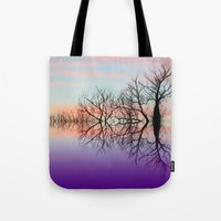 skyline Tote Bags featuring Skyline by Shalisa Photography