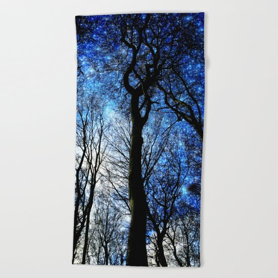 the night i met you Beach Towel