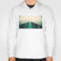 sublime Hoodies featuring suspension bridge by Sookie Endo