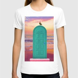 Portal to your future self. T-shirt
