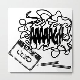 AAAGH Tape - Jam Metal Print