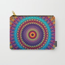 Fire and Ice Mandala Carry-All Pouch