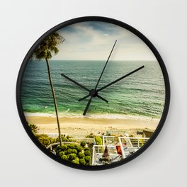 Fun Summer 5530 Laguna Beach Wall Clock