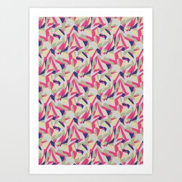 Psycho Pattern Art Print