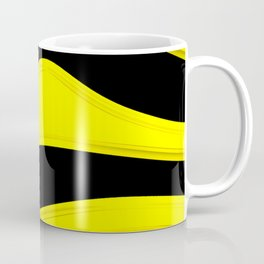 Hot Wavy B Coffee Mug
