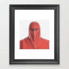 Imperial Guard - StarWars - Pantone Swatch Art Framed Art Print