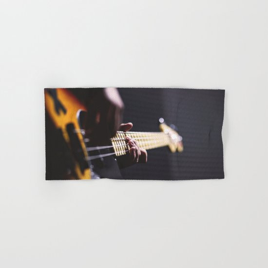Guitarist Hand & Bath Towel