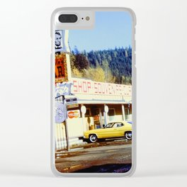 Souvenir Stand Clear iPhone Case