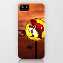 A True Texan Sunset iPhone Case