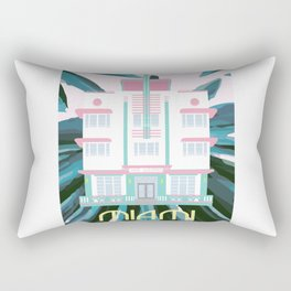 Miami Landmarks - McAlpin Rectangular Pillow