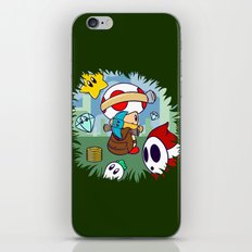 Treasure Tracked: Captain Toad's Fortune (Alt Version: No Text) iPhone & iPod Skin