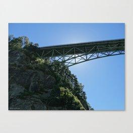 Pass Island Bridge Canvas Print