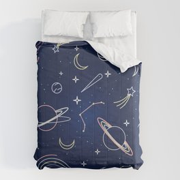 Space Line Pattern  Comforters