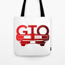 Pontiac GTO - classic red - Tote Bag