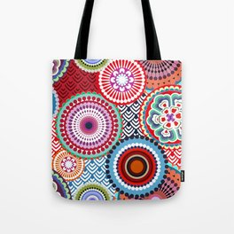 ECLECTIC FLOWERS Tote Bag