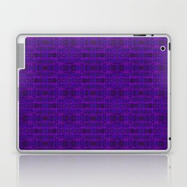 Ultra-Violet Weave, abstract pattern Laptop & iPad Skin