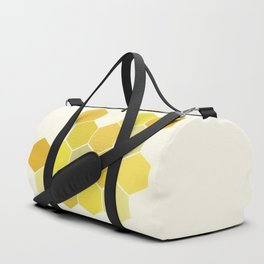 Shades of Yellow Duffle Bag