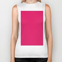 ruby Biker Tanks featuring Ruby by List of colors