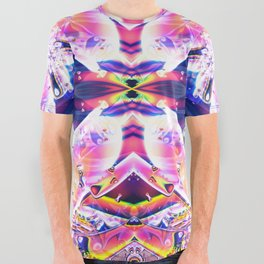 BBQSHOES: The Visitors Fractal Art  All Over Graphic Tee