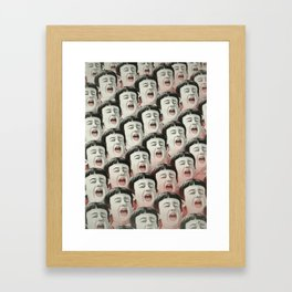 AAAA! II Framed Art Print