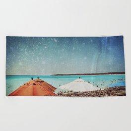 Triple Canopy Beach Towel