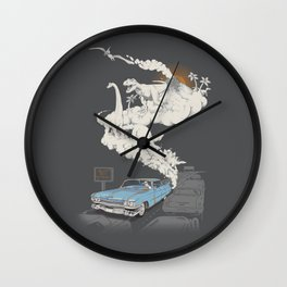 Fossils Refueled Wall Clock
