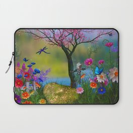 Fairytale Fantasy Garden Laptop Sleeve