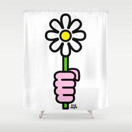 Daisy punch Shower Curtain