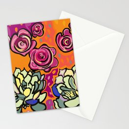 The mesmerising promise of roses Stationery Cards