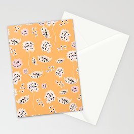Coral Beauty Stationery Cards