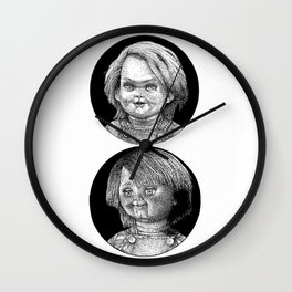 The Good and The Bad Wall Clock