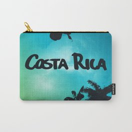 Costa Rica - Tropical Rainforest Poster Carry-All Pouch